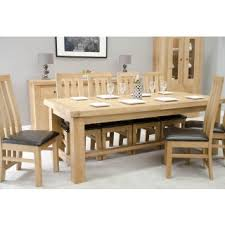 Large Extending Dining Table Extending Dining Tables Oak Furniture Uk