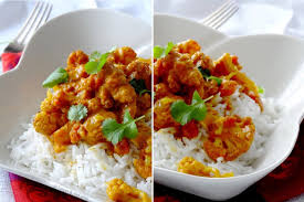 cuisiner le chou fleur riz au chou fleur façon tikka massala épices moi