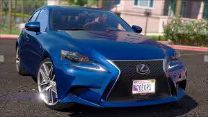 lexus 2014 lexus is350 f sport 2014 gta5 mods com