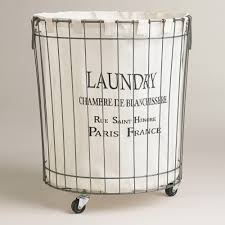 stylish laundry hampers claudette wire hamper hamper laundry and laundry rooms