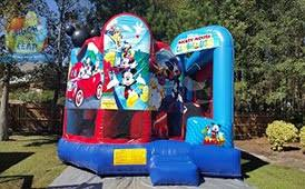 mickey mouse clubhouse bounce house mickey mouse clubhouse combo laugh n leap columbia sc