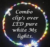 wire frame clips for christmas lights combo clips