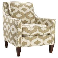 Patterned Upholstered Chairs Design Ideas Chairs Comfy Brown Cheap Accent Chairs With Wood Varnished
