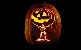 atlas holding halloween pumpkin creative ads and more u2026
