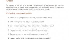 interview question template demand metric