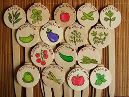 Vegetable Garden Labels by 14 Best Wooden Spoons Images On Pinterest Garden Markers Plant