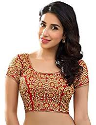 saree blouses designer blouse buy blouse at best prices in india amazon in