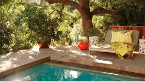 Outdoor Pool Furniture by 12 Lessons In Outdoor Living Martha Stewart