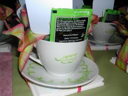 personalized tea cup favors paperblog