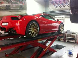 gold ferrari performance wheels for ferrari 458 u2013 giovanna luxury wheels