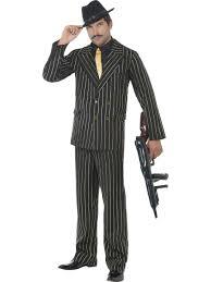 Mafia Halloween Costume Gangster Costume Hat Mens 1920s Godfather Mafia Suit Adults 20s