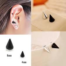 clip on earrings for men new women men cone shaped magnet ear stud earrings clip on no
