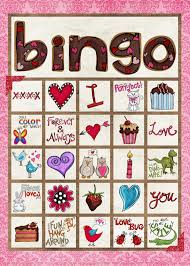 Halloween Bingo Free Printable Cards by 9 Sets Of Free Printable Valentine Bingo Cards