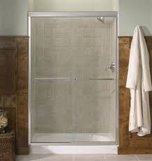 Mirolin Shower Doors Kohler Co R702206 Fluence Bypass Shower Door Lowe S Canada