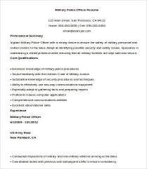 military police officer job description police officer resume