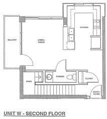 Second Floor Plans Fahrenheit Unit X