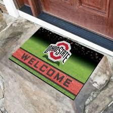 Ohio State Outdoor Rug Ohio State Buckeyes Mat Coir Doormats Rugs College Doormat