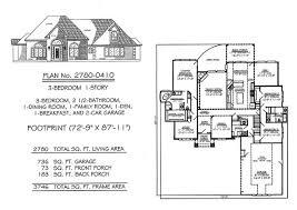 2201 2800sq feet 3 bedroom house plans