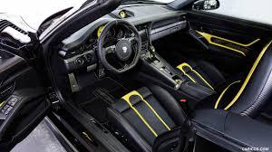 porsche 911 interior 2017 2017 techart gtstreet r cabrio based on porsche 911 turbo