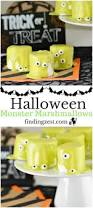 halloween monster marshmallows finding zest