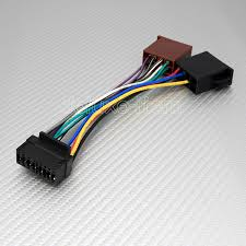 jvc 16 pin iso wiring harness lead wire connector loom ebay