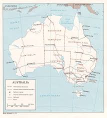Physical Map Of Australia Nationmaster Maps Of Australia 21 In Total