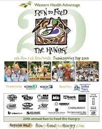 20th annual run to feed the hungry sacramento november 28 2013