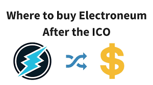 where to buy electroneum after ico exchange list