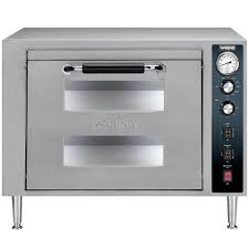 waring wpo700 double deck countertop pizza oven 240v