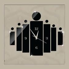 horloge cuisine design horloge cuisine design inox 3 d socialfuzz me