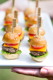 perfect party appetizer how to make mini cheeseburgers pizzazzerie