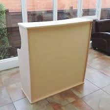 podium style reception desk salon reception desk beauty salon furniture ebay