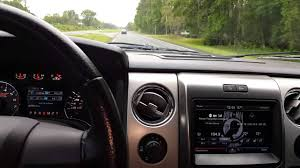 2013 F150 Interior 2013 Ford F 150 W Roush Exhaust Interior Noise At 80 Mph Youtube