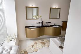 the ingenious ideas for bathroom flooring midcityeast contemporary bathroom flooring ideas with brown vanity design