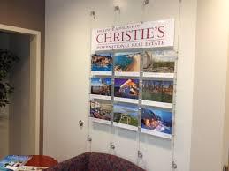 wall display wall cable display systems modular displays showcase art framing