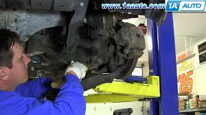 nissan maxima qx parts how to install replace rusted control arm and ball joint 2000 04