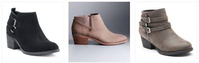 womens boots kohls kohl s com up to 70 s boots boots as low as 23 99