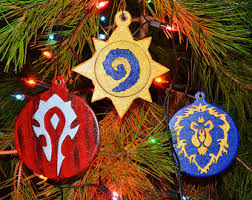 ornament of hearthstone world of warcraft handmade