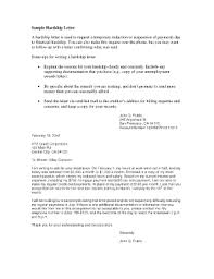 hardship letter for loan modification template forms fillable