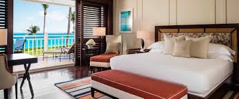 luxury beachfront room one only ocean club bahamas bedroom