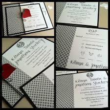Red And Black Wedding Invitations 33 Modern Black And White Wedding Invitations Vizio Wedding