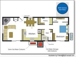 Cabin Blueprints Floor Plans Three Bedroom Floor Plans With Home Office Design Best 25 6