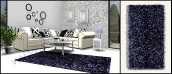 tappeti moderni bianchi e neri tappeti moderni shaggy per la zona giorno e per il salotto