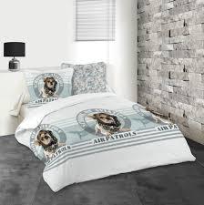 housse couette montagne linge de lit u2013 parure de lit tête de lit draps pier import