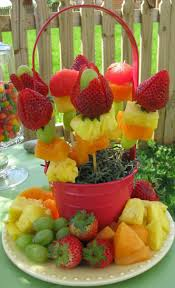 64 best fruit salad kabob baby shower hawaiian theme best