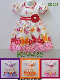 desain baju gaun anak habis sold out desain baju anak perempuan kk 008