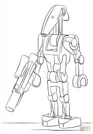 lego battle droid coloring free printable coloring pages