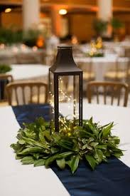 lanterns work great as centerpieces because you do not need a lot