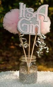 centerpieces for baby showers baby shower banner rustic shabby chic girl baby shower baby girl