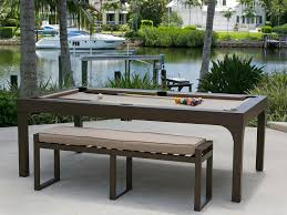 Bench For Balcony The Balcony Outdoor Pool Table U2013 Robbies Billiards